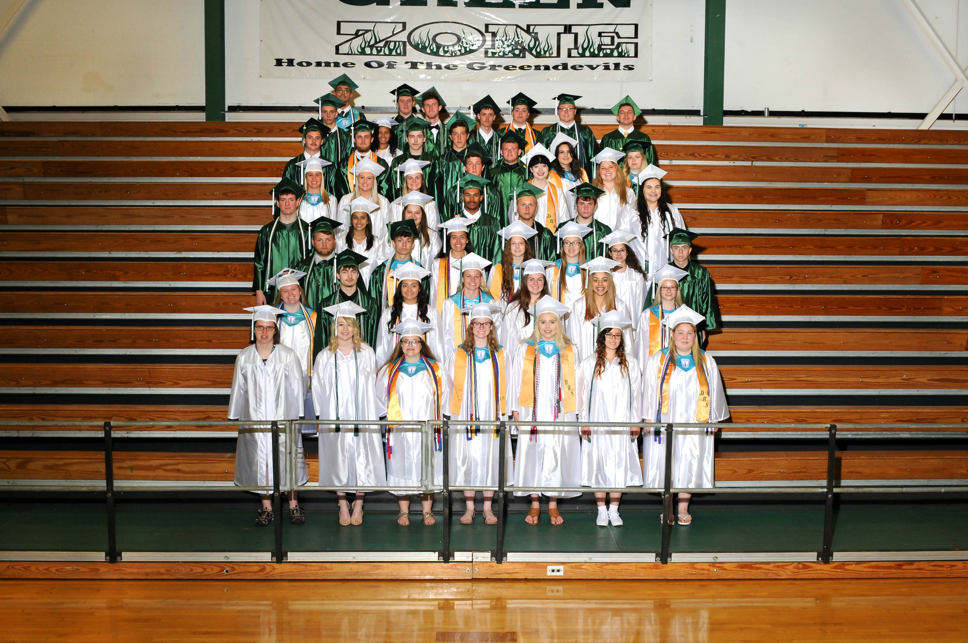 Dayton High School Class of 2018 - Group photo